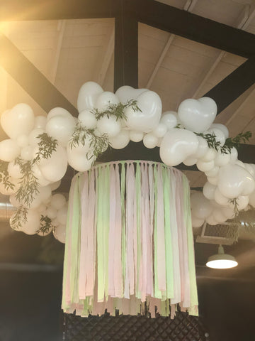 Custom Balloon Chandelier | Houston Balloon Garlands