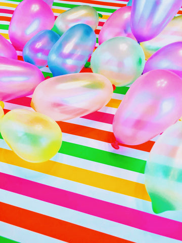 Balloon Pop DIY project by Revelry Goods modern party store