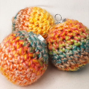 Load image into Gallery viewer, Sherbet Crochet Ornament - Revelry Goods