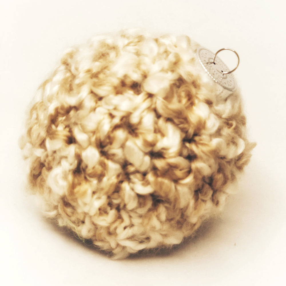 Natural Crochet Ornament