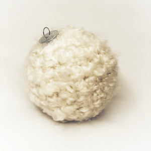 Ivory Crochet Ornament - Revelry Goods
