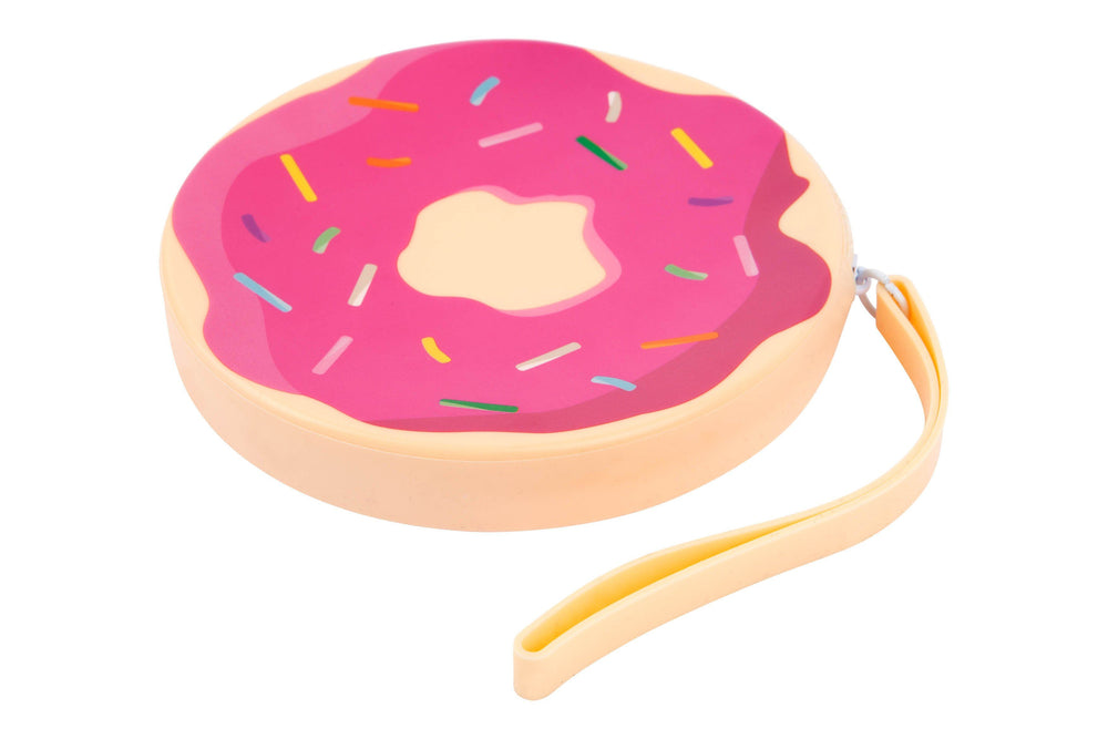 Donut Silicone Coin Pouch