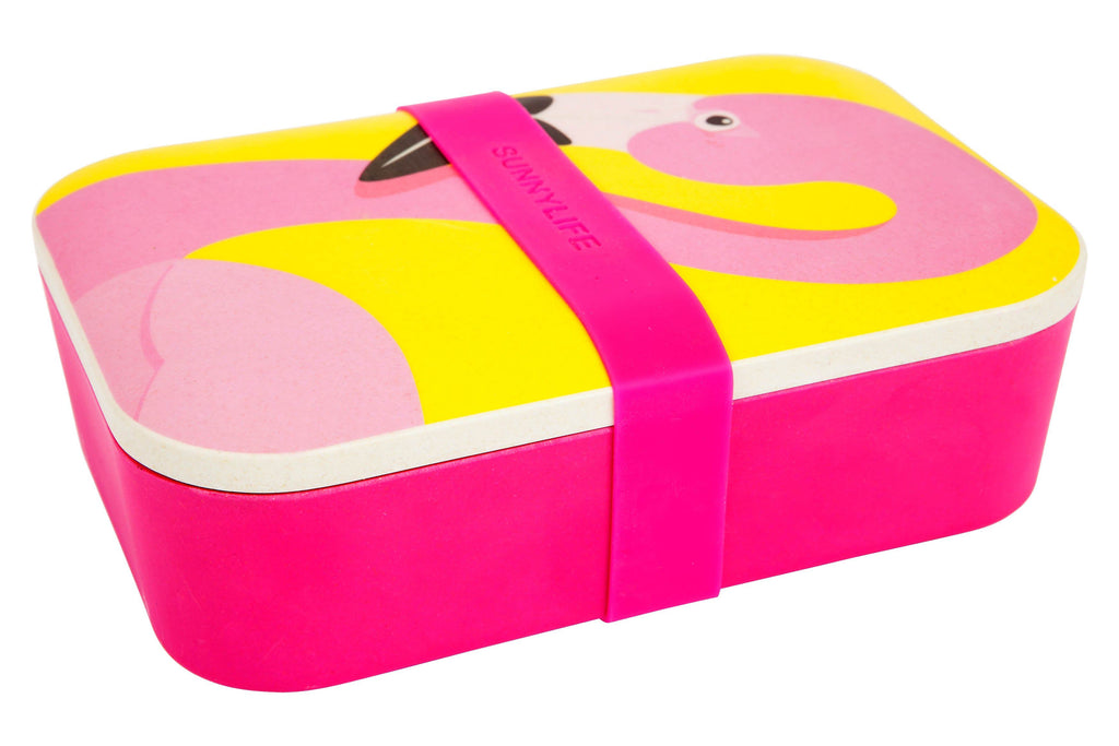 Flamingo Eco Lunch Box - Revelry Goods