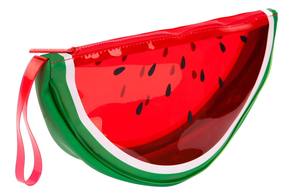 Watermelon See Thru Clutch
