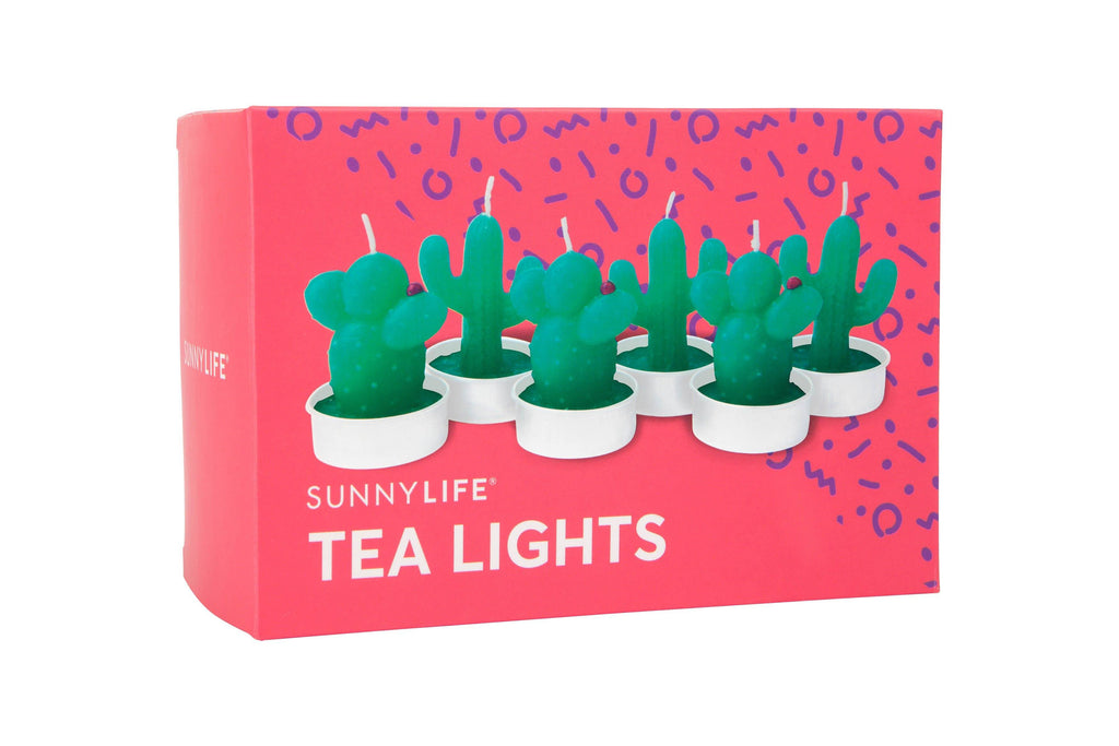 Cactus Tea Lights - Revelry Goods