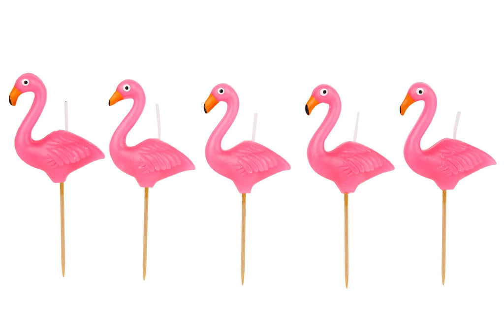 Flamingo Cake Candles - Revelry Goods