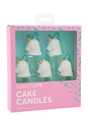 Unicorn Cake Candles - Revelry Goods