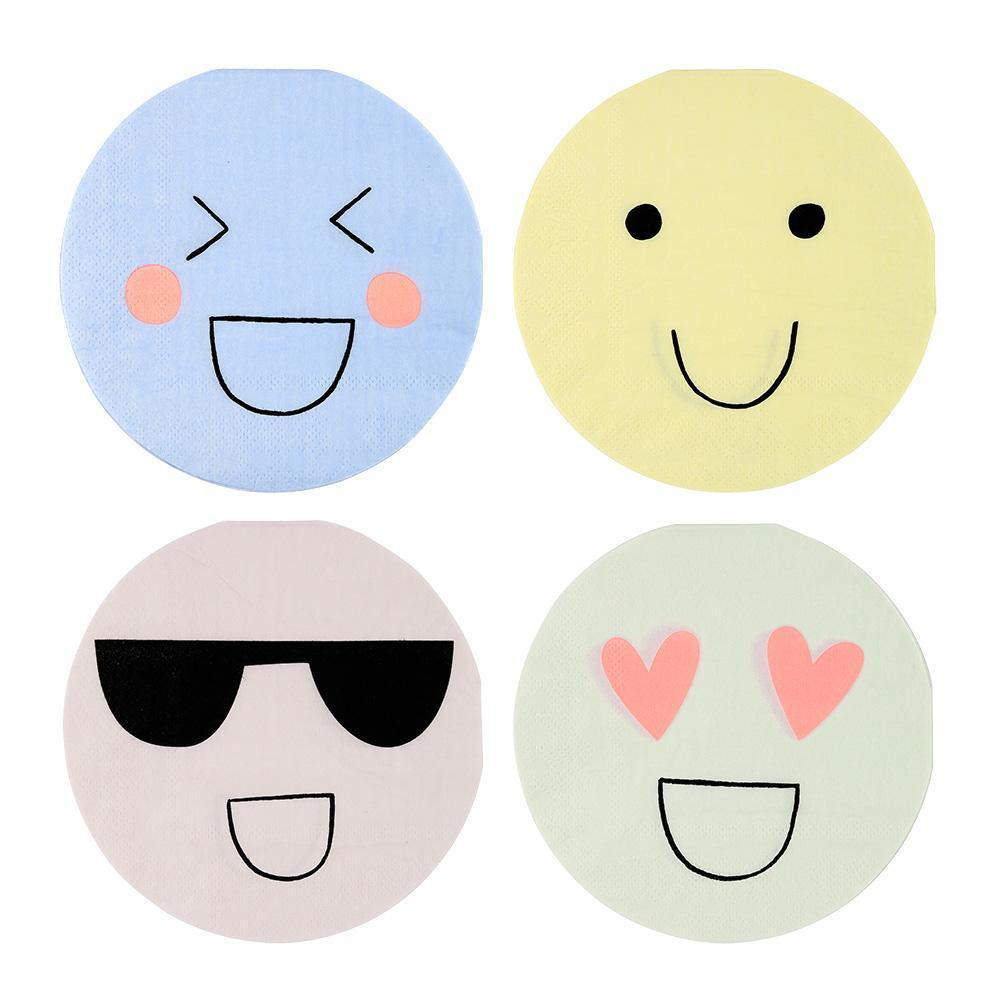 Emoji Cocktail Napkins - Revelry Goods
