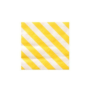 Happy Stripes Cocktail Napkins - Revelry Goods