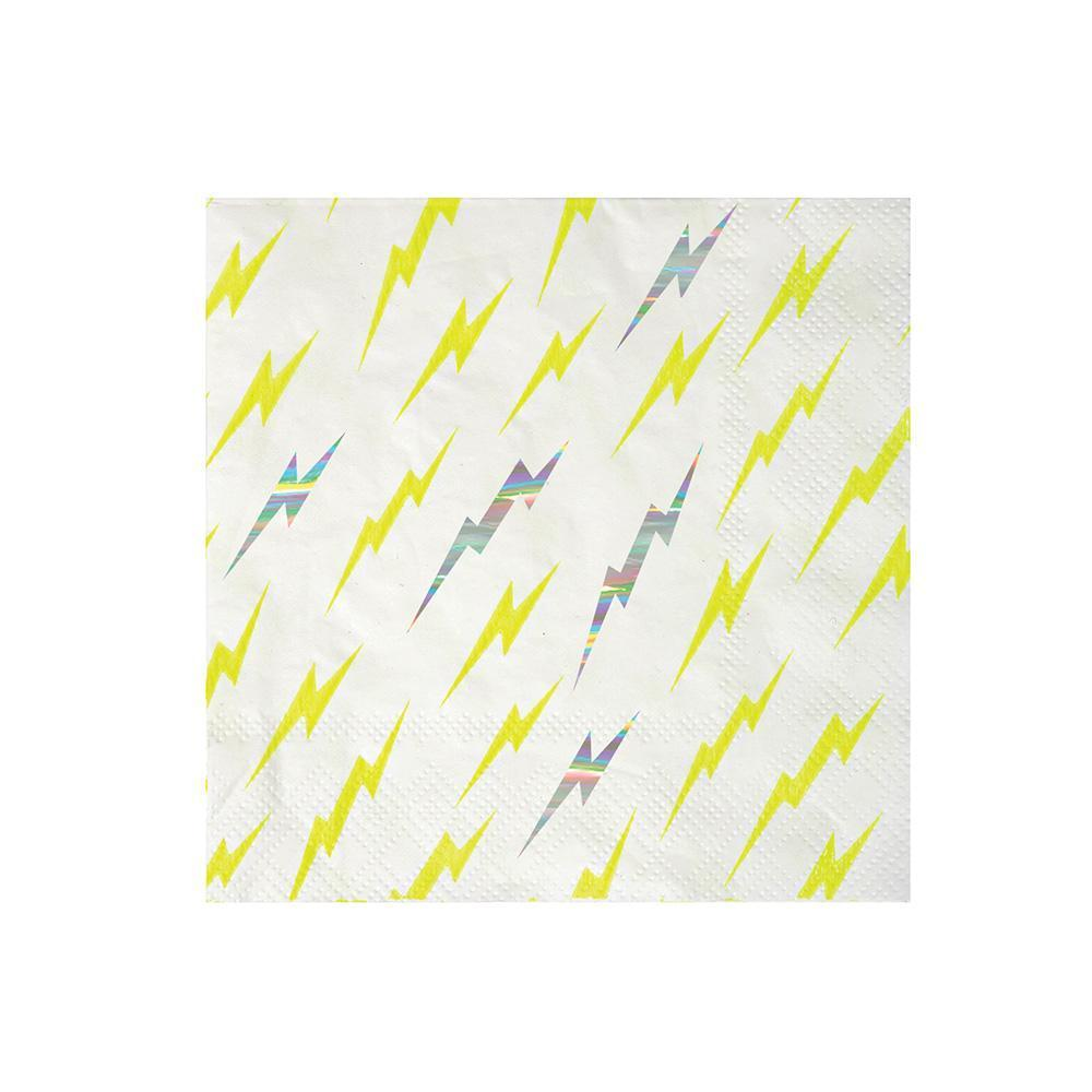 Meri Meri Zap! Small party napkins from Revelry Goods modern party supplies