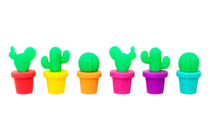 Load image into Gallery viewer, Cactus Glass Markers - Revelry Goods
