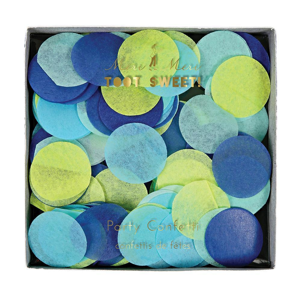 Blue Party Confetti