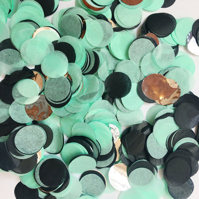 Memphis Mint Party Confetti - Revelry Goods