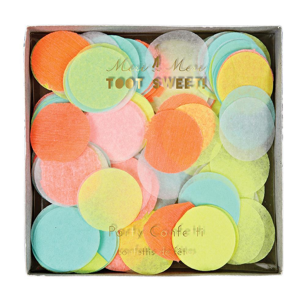 Pastel Neon Party Confetti