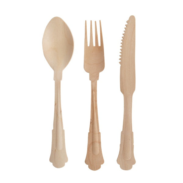 Classic Wooden Forks - Revelry Goods