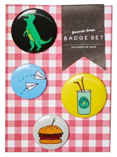 Favorite Things Pins Set - Revelry Goods