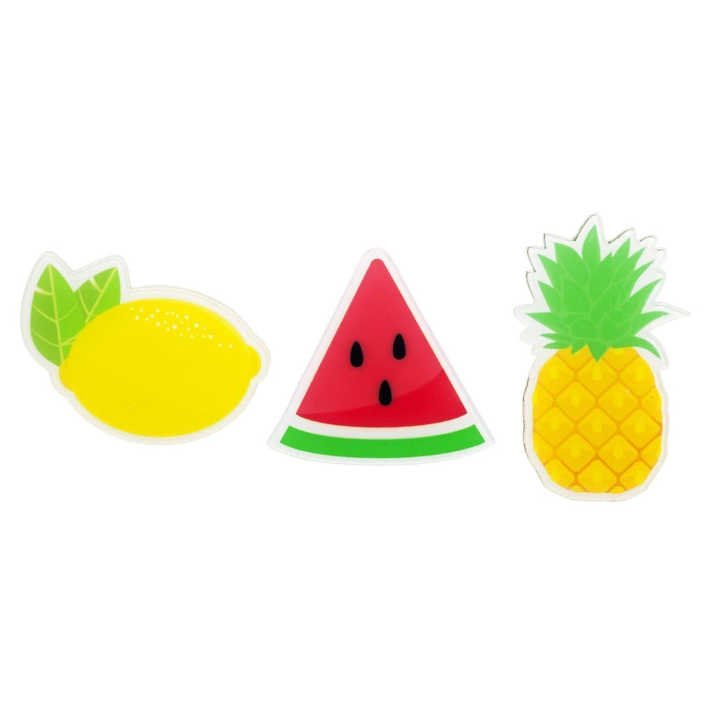 Fruit Salad Pin Ons- Set of 3