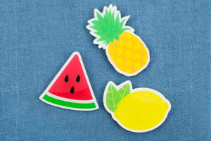 Fruit Salad Pin Ons- Set of 3 - Revelry Goods