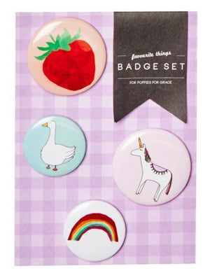 Load image into Gallery viewer, Fun Fun Badge Set - Revelry Goods