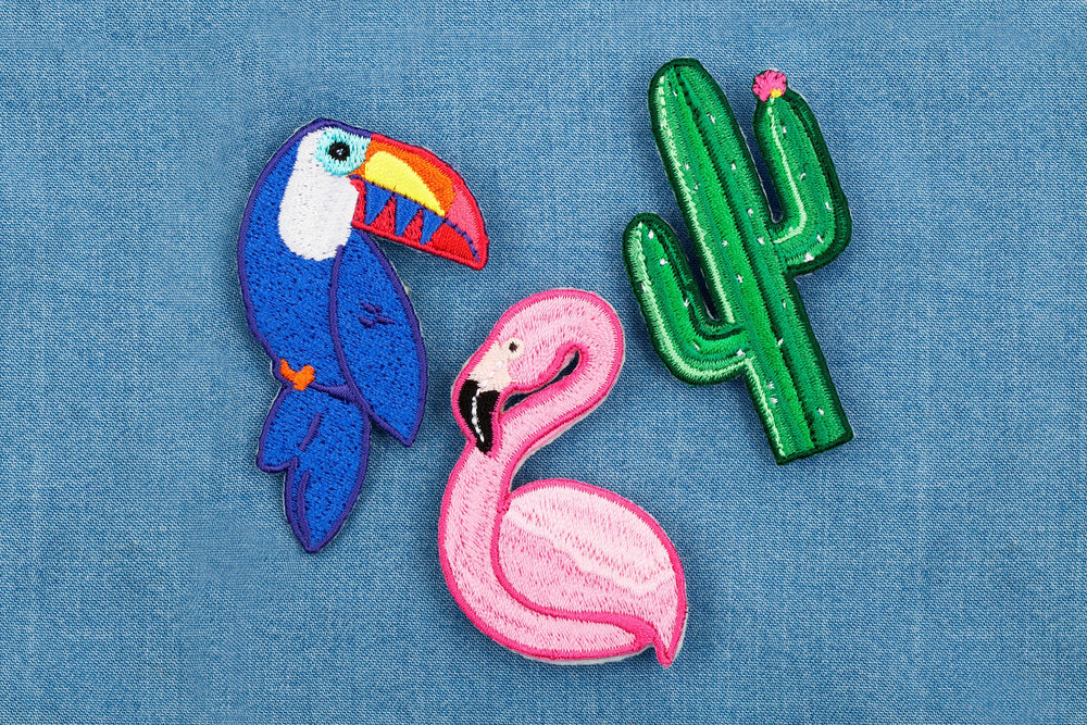 Tropical Badge Pins- Set of 3 - Revelry Goods