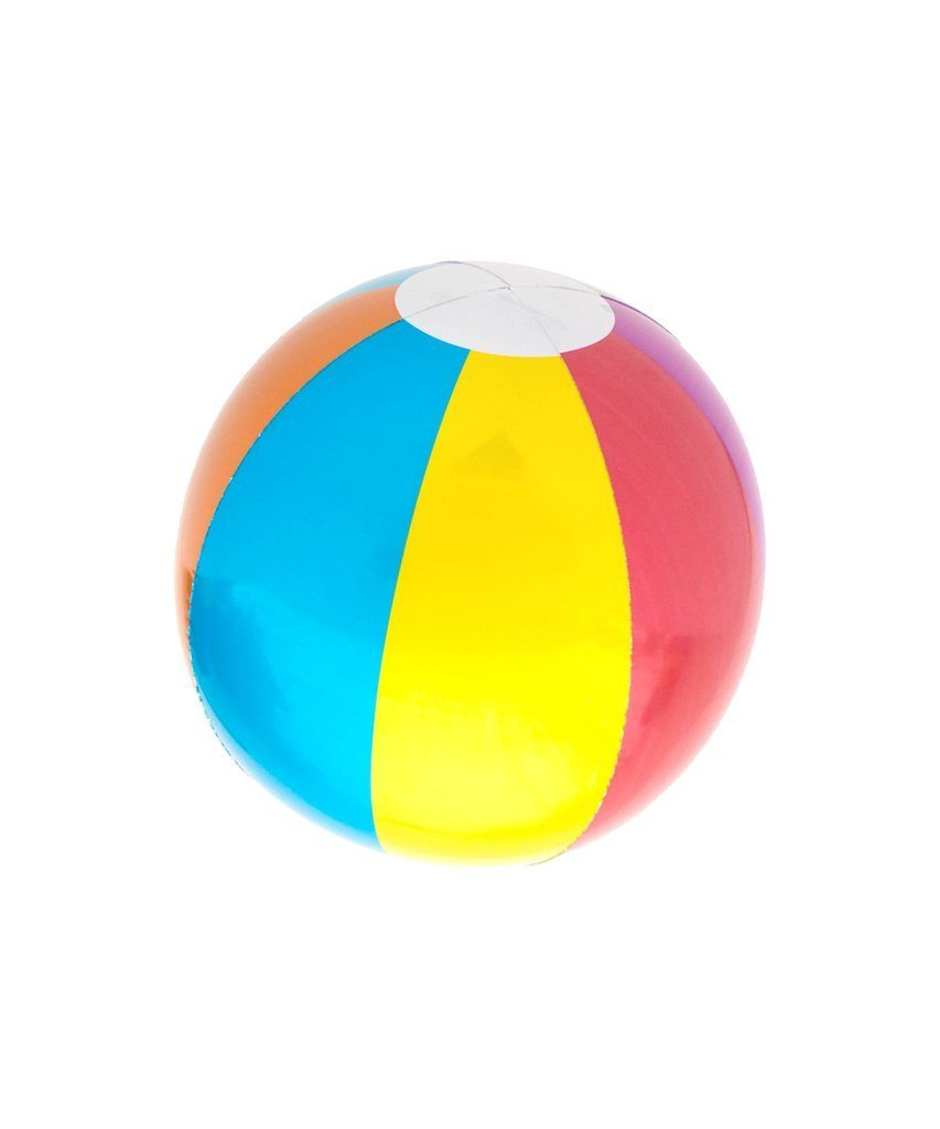 Beach Ball Foil Balloon - Revelry Goods