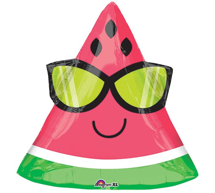 Fun in the Sun Watermelon Foil Balloon - Revelry Goods