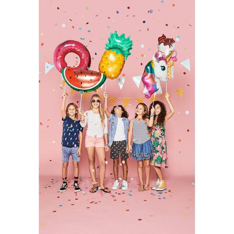 Ice Cream Foil Balloon on a Stick - Revelry Goods