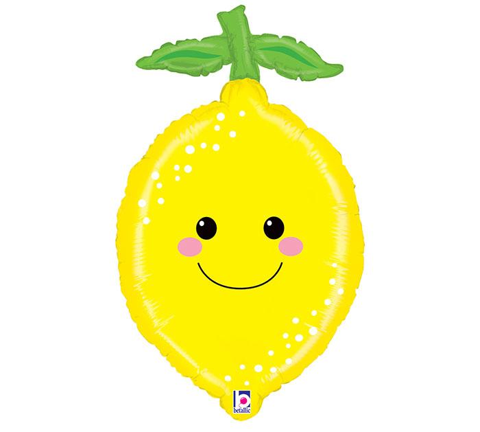 Produce Pals Lemon Foil Balloon - Revelry Goods