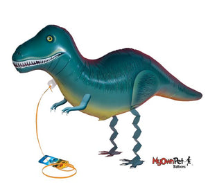 T-Rex Air Walker Foil Balloon - Revelry Goods