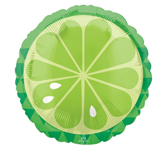 Tropical Lime Balloon Foil Balloon - Revelry Goods