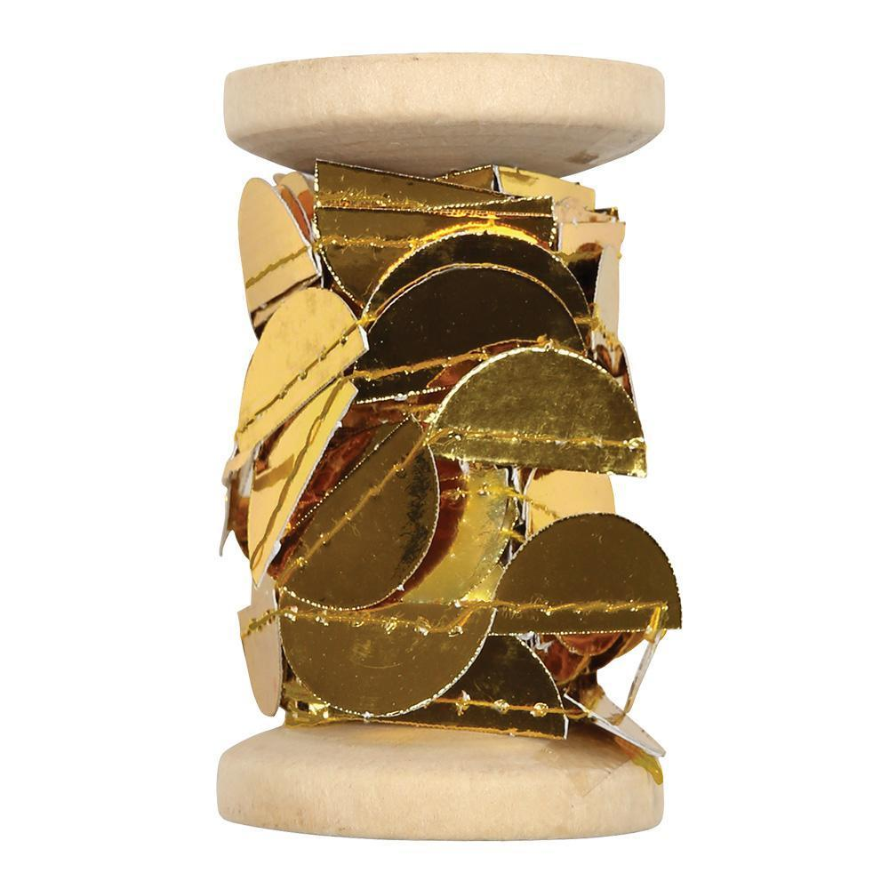 Gold Scallop Garland Spool - Revelry Goods