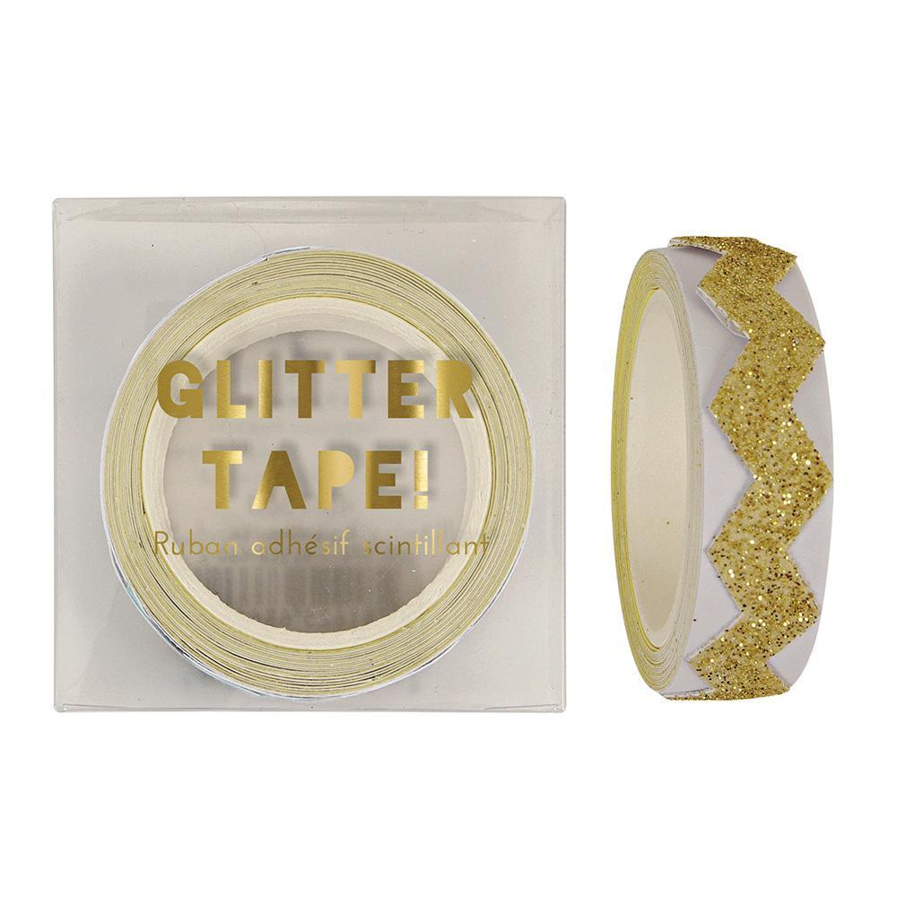 Load image into Gallery viewer, Gold Glitter Chevron Tape - Revelry Goods
