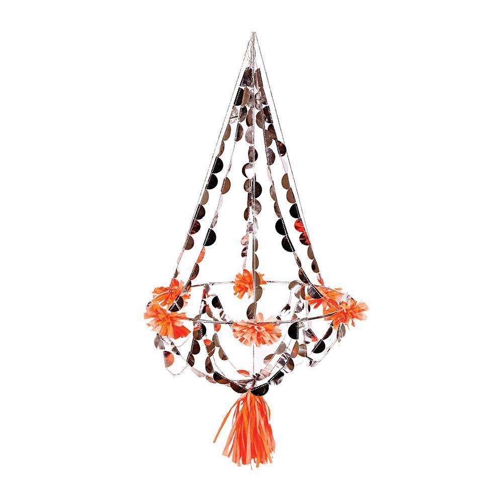 Small Paper Pajaki Chandelier