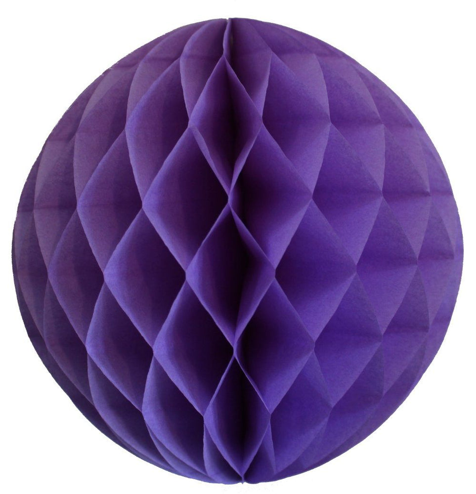 Lavender Small Honeycomb Ball