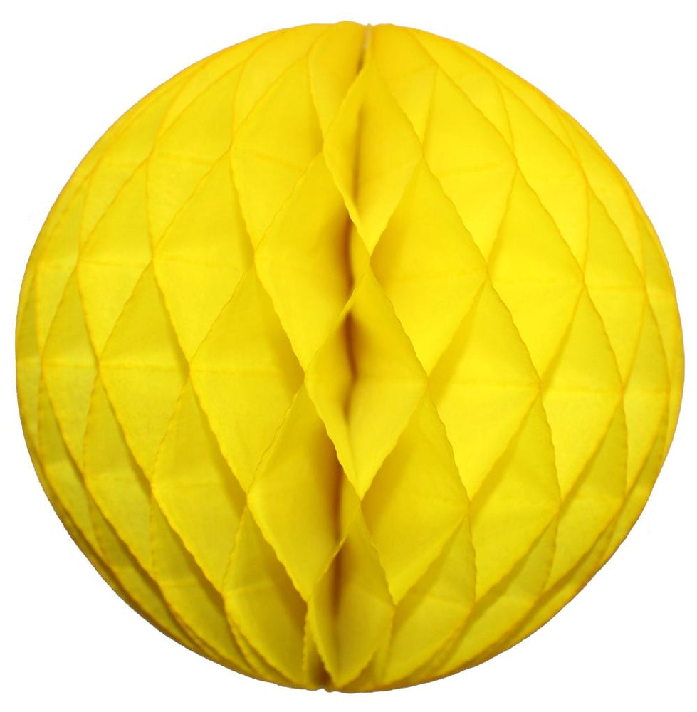 Yellow Small Honeycomb Ball
