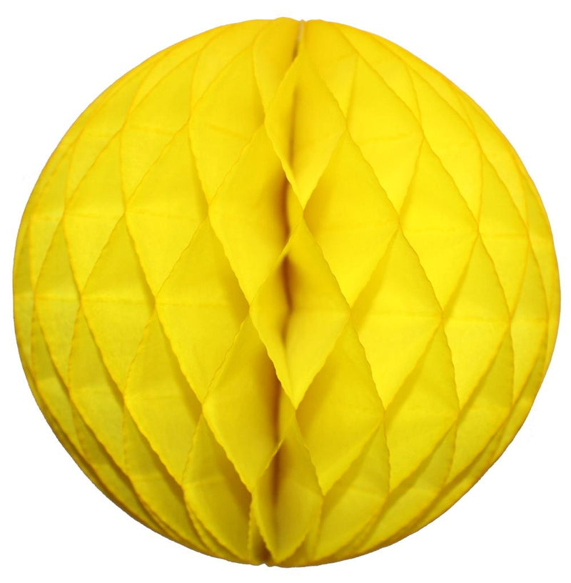 Yellow Small Honeycomb Ball - Revelry Goods