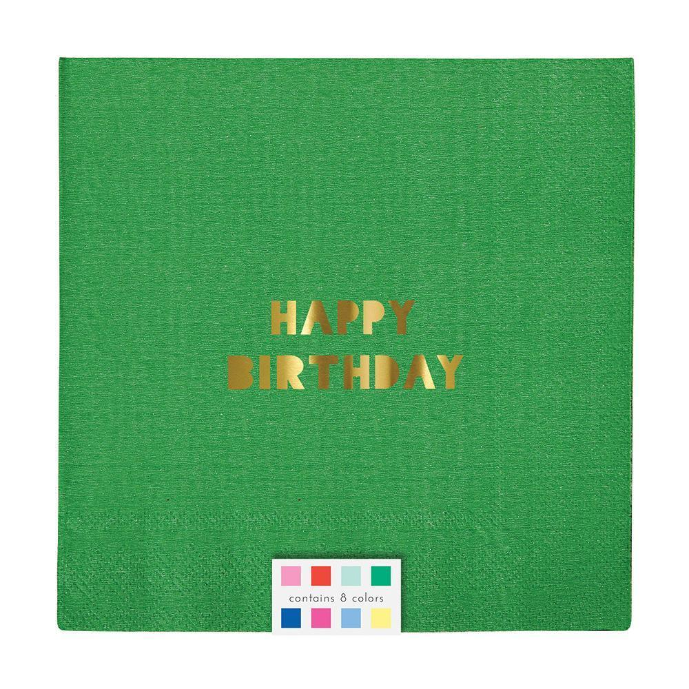 Load image into Gallery viewer, Happy Birthday Large Napkins - Revelry Goods