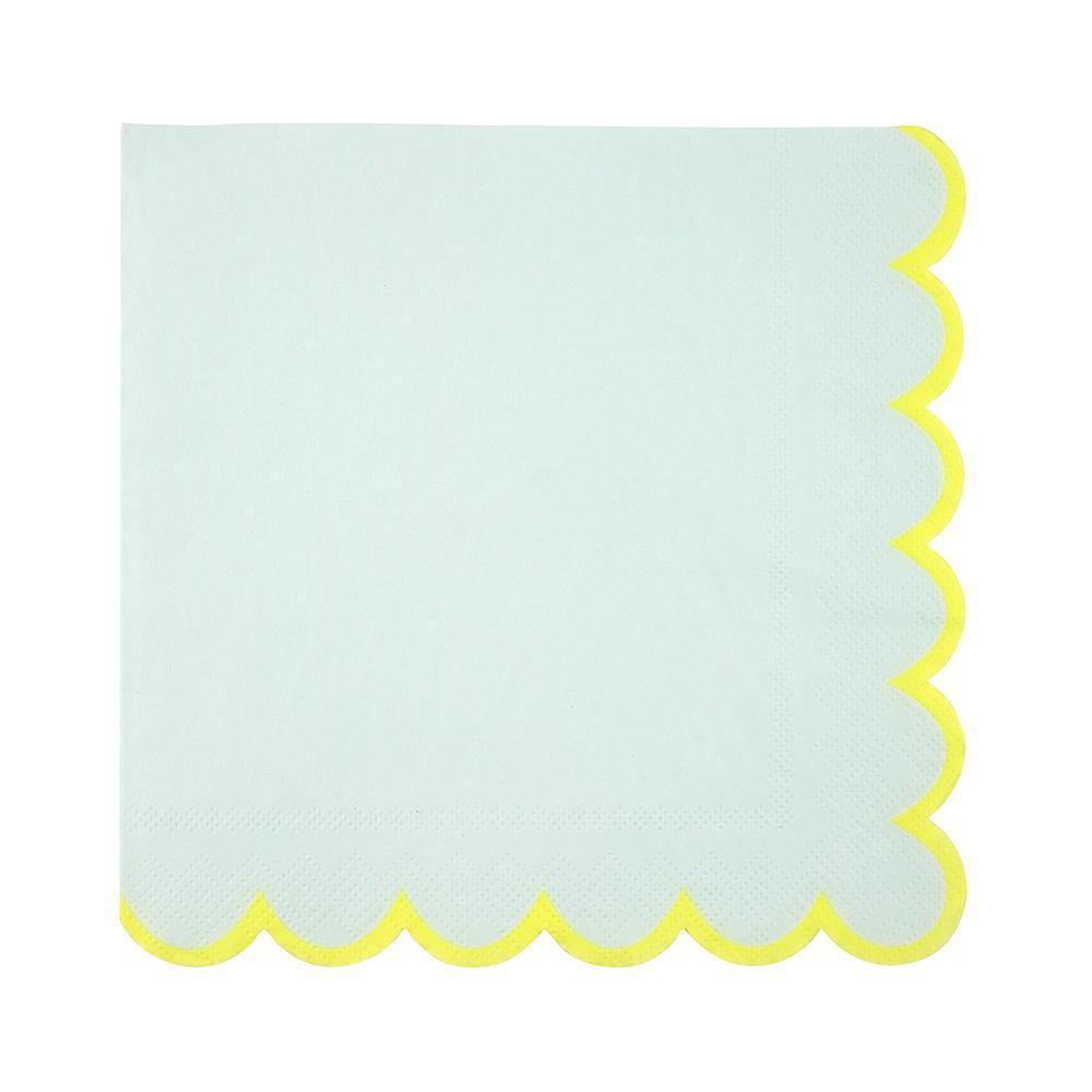 Mint Pastel Large Napkins - Revelry Goods