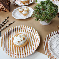 Copper Luxe Large Plates - Revelry Goods