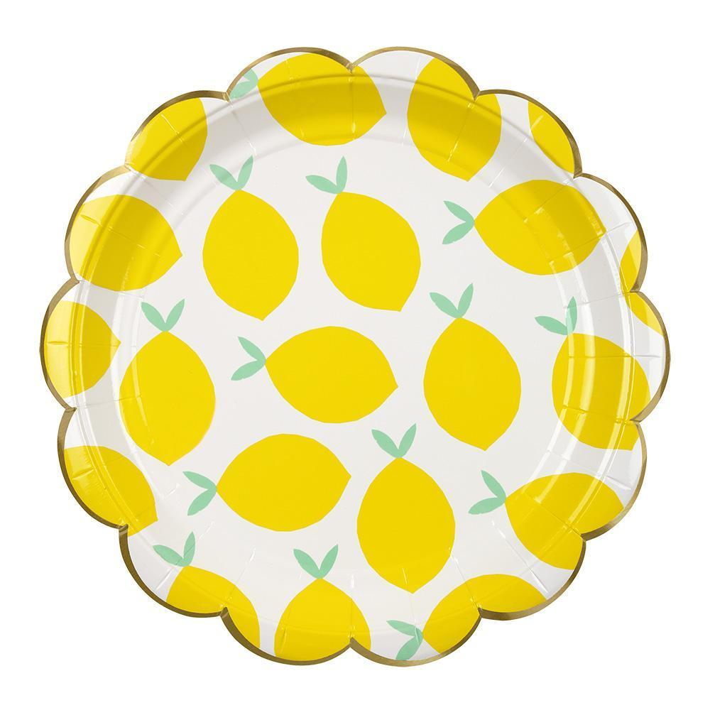 Lemon Large Plates - Revelry Goods