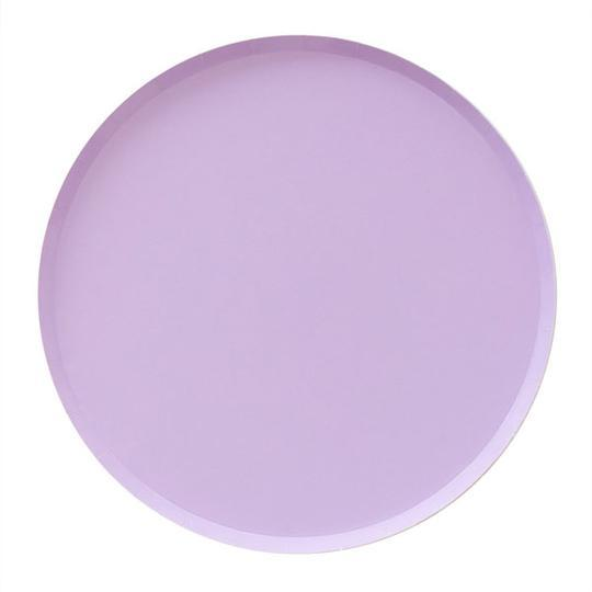 Lilac Large Plates - Revelry Goods