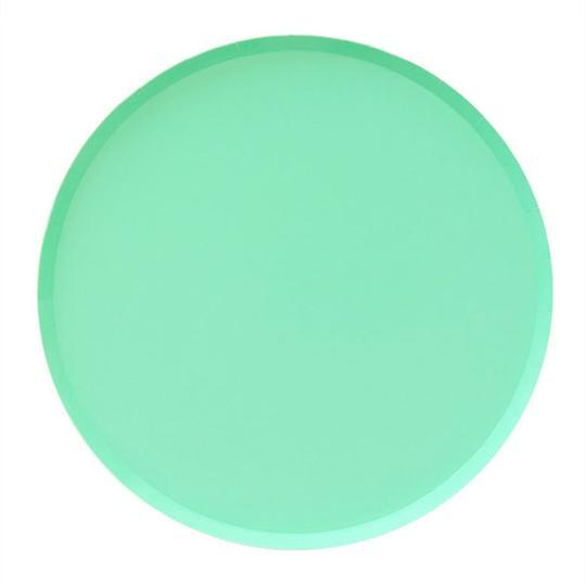 Mint Large Plates - Revelry Goods