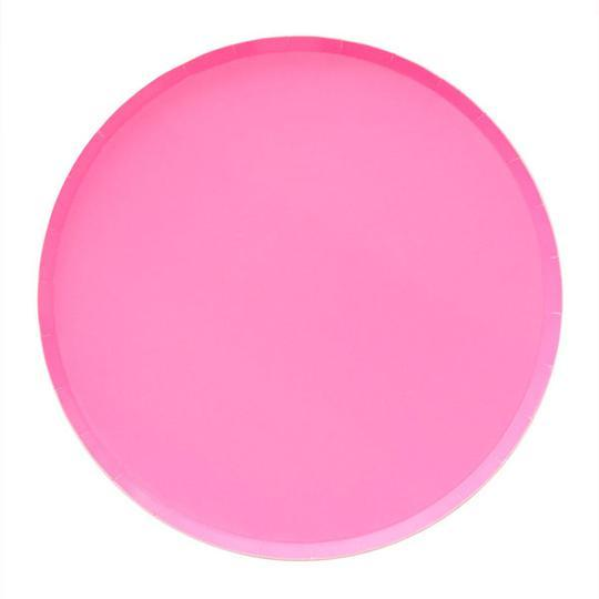Neon Rose Large Plates - Revelry Goods