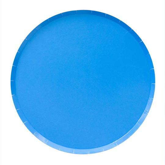 Pool Blue Large Plates