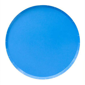 Pool Blue Large Plates - Revelry Goods