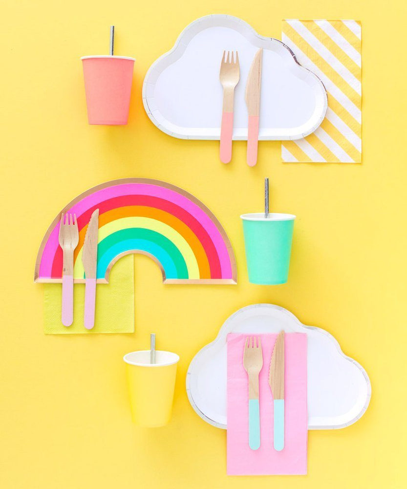 Load image into Gallery viewer, Rainbow Plates - Revelry Goods
