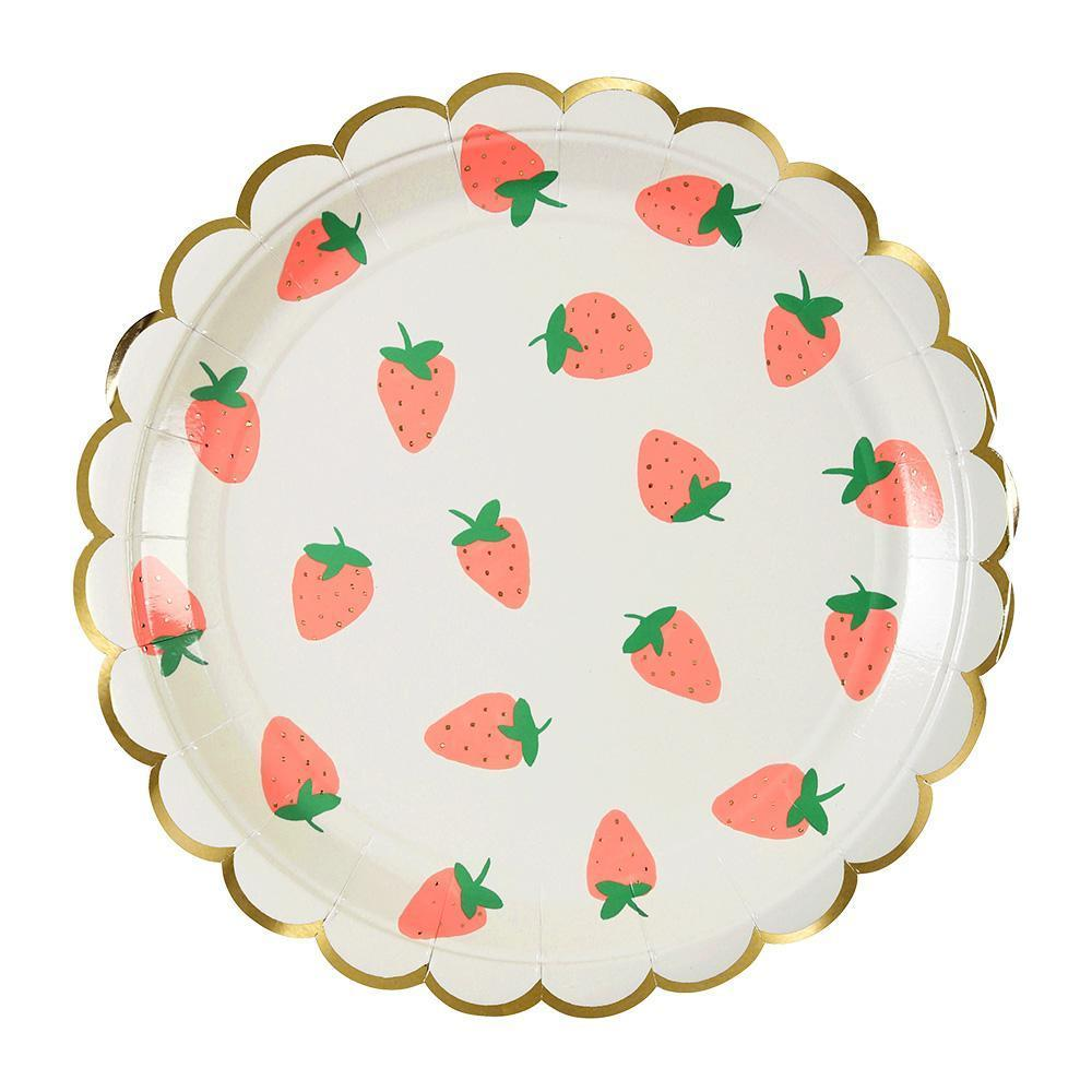 Strawberry Large Plates - Revelry Goods