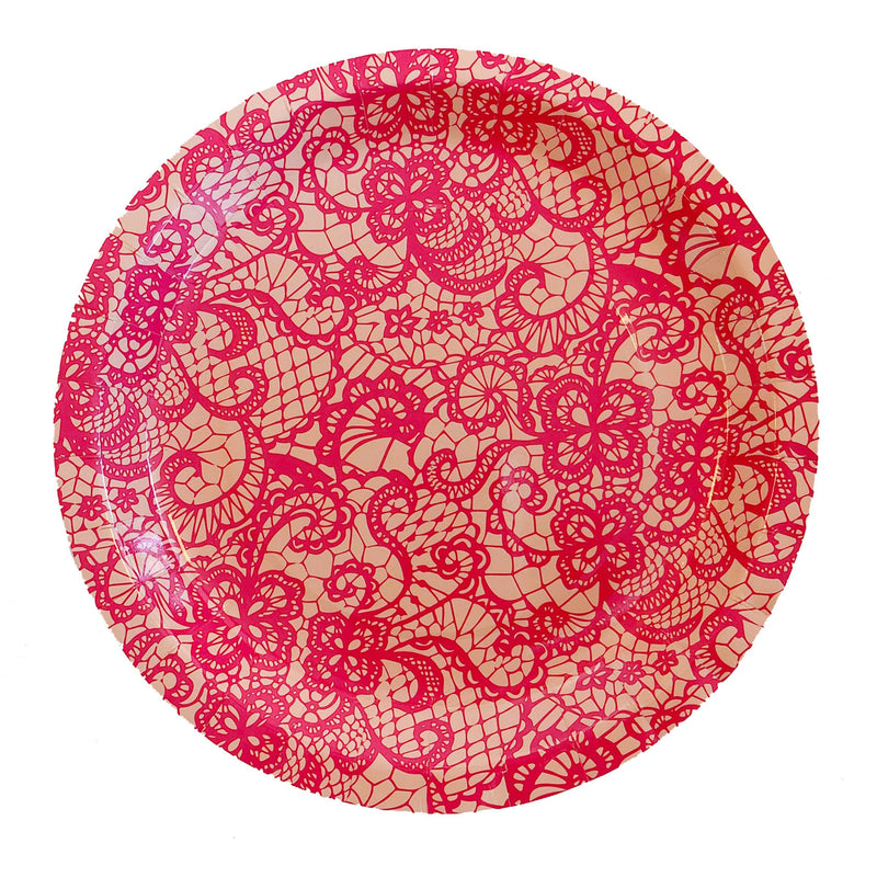 Valley Lace Large Plates - Revelry Goods