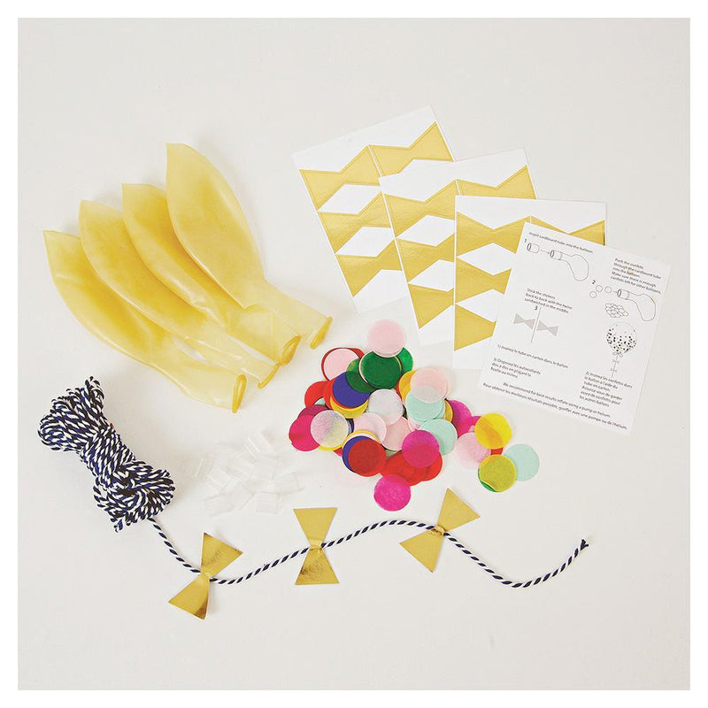 Bright Confetti Balloons Kit - Revelry Goods