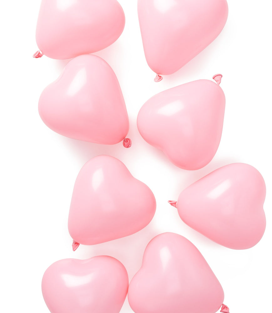 Load image into Gallery viewer, Mini Pink Heart Balloons - Revelry Goods